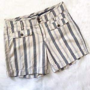 Anthropologie • Hei Hei Striped Stroll Shorts